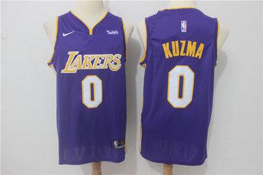 bb6488e44f4 Lakers 0 Kyle Kuzma Yellow Nike Authentic Jersey